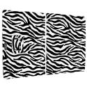 Microsoft Surface Pro 3 Black White Zebra Folio Pouch Flip Case Cover Stand Angle 2