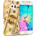 Samsung Galaxy S6 Edge Money TPU Design Soft Rubber Case Cover Angle 1