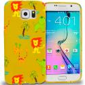 Samsung Galaxy S6 Zoo TPU Design Soft Rubber Case Cover Angle 1