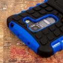 LG G Pro 2 - Blue MPERO IMPACT SR - Kickstand Case Cover Angle 6