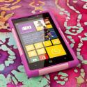 Nokia Lumia 925 - Pink MPERO IMPACT X - Kickstand Case Cover Angle 2