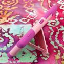 Nokia Lumia 925 - Pink MPERO IMPACT X - Kickstand Case Cover Angle 4