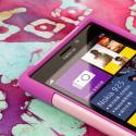 Nokia Lumia 925 - Pink MPERO IMPACT X - Kickstand Case Cover Angle 5