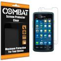 Samsung Rugby Smart i847 Combat 6 Pack HD Clear Screen Protector Angle 1