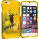Apple iPhone 6 6S (4.7) Deer 2D Hard Rubberized Design Case Cover Angle 1