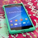 Sony Xperia Z2 - Mint Green MPERO SNAPZ - Case Cover Angle 2