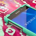 Sony Xperia Z2 - Mint Green MPERO SNAPZ - Case Cover Angle 4
