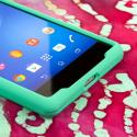 Sony Xperia Z2 - Mint Green MPERO SNAPZ - Case Cover Angle 5