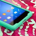 Sony Xperia Z2 - Mint Green MPERO SNAPZ - Case Cover Angle 5