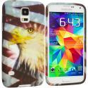 Samsung Galaxy S5 Eagle TPU Design Soft Case Cover Angle 1
