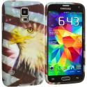 Samsung Galaxy S5 Eagle TPU Design Soft Case Cover Angle 2