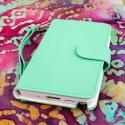 Samsung Galaxy Note 3 N900A N900V N9000 - Mint MPERO FLEX FLIP Wallet Case Angle 2
