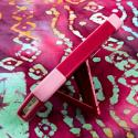 Apple iPhone 5/5S/SE - Hot Pink/ Pink MPERO IMPACT X - Kickstand Case Cover Angle 4