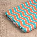 Apple iPhone 6 6S Plus - Mint Chevron MPERO SNAPZ - Case Cover Angle 6