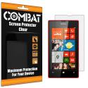 Nokia Lumia 521 Combat 6 Pack HD Clear Screen Protector Angle 1