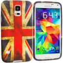 Samsung Galaxy S5 The Union Flag TPU Design Soft Case Cover Angle 1