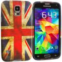 Samsung Galaxy S5 The Union Flag TPU Design Soft Case Cover Angle 2