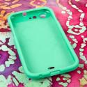 BLU Life One - Mint Green MPERO SNAPZ - Rubberized Case Cover Angle 2