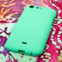 BLU Life One - Mint Green MPERO SNAPZ - Rubberized Case Cover Angle 3