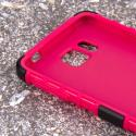 Samsung Galaxy Alpha - Hot Pink MPERO IMPACT SR - Kickstand Case Cover Angle 5