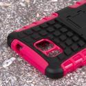 Samsung Galaxy Alpha - Hot Pink MPERO IMPACT SR - Kickstand Case Cover Angle 6
