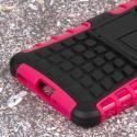 Samsung Galaxy Alpha - Hot Pink MPERO IMPACT SR - Kickstand Case Cover Angle 7
