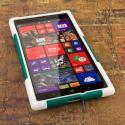 Nokia Lumia 1520 - Teal Green MPERO IMPACT X - Kickstand Case Cover Angle 2