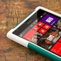 Nokia Lumia 1520 - Teal Green MPERO IMPACT X - Kickstand Case Cover Angle 5