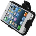 Apple iPhone 5 Black Hard Rubberized Belt Clip Holster Case Cover Angle 9