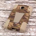 Sharp AQUOS Crystal - Hunter Camo MPERO IMPACT X - Kickstand Case Cover Angle 3