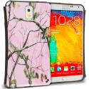 Samsung Galaxy Note 3 N9000 Hot Pink Tree Hybrid TPU Hard Soft Shockproof Drop Proof Case Cover Angle 1
