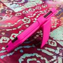 Motorola DROID ULTRA XT1080 MPERO 3 in 1 Tough Hot Pink Kickstand Case Cover Angle 5