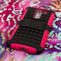LG G Pro 2 - Hot Pink MPERO IMPACT SR - Kickstand Case Cover Angle 3