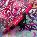 LG G Pro 2 - Hot Pink MPERO IMPACT SR - Kickstand Case Cover Angle 4