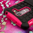 LG G Pro 2 - Hot Pink MPERO IMPACT SR - Kickstand Case Cover Angle 6