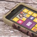 Nokia Lumia 635 - Hunter Camo MPERO IMPACT X - Kickstand Case Cover Angle 5