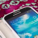 Samsung Galaxy S4 I9500 I905 L720 - Mint / White MPERO FLEX FLIP Wallet Case Angle 5