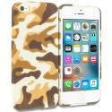 Apple iPhone 5/5S/SE Camo TPU Design Soft Rubber Case Cover Angle 1