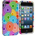 Apple iPhone 5/5S/SE Colorful Lolly Hard Rubberized Design Case Cover Angle 2