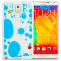 Samsung Galaxy Note 3 N9000 Blue Fish Tank 3D Liquid Hard Case Cover Angle 1