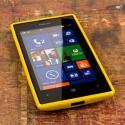Nokia Lumia 520 - Yellow MPERO FLEX S - Protective Case Cover Angle 2