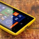 Nokia Lumia 520 - Yellow MPERO FLEX S - Protective Case Cover Angle 5