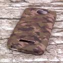 Alcatel OneTouch Fierce 2 - Green Camo MPERO SNAPZ - Case Cover Angle 3