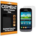 Samsung Galaxy Victory 4G Combat 6 Pack HD Clear Screen Protector Angle 1