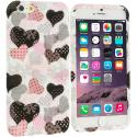 Apple iPhone 6 6S (4.7) Love desert on Sliver TPU Design Soft Case Cover Angle 1