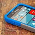 Samsung ATIV SE - Blue / Gray MPERO IMPACT X - Kickstand Case Cover Angle 5