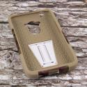 Motorola DROID TURBO - Hunter Camo MPERO IMPACT X - Kickstand Case Cover Angle 2