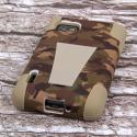 T-Mobile LG Optimus F3 - Hunter Camo MPERO IMPACT X - Kickstand Case Cover Angle 3