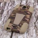 HTC Desire 510 - Hunter Camo MPERO IMPACT X - Kickstand Case Cover Angle 3