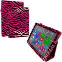 Microsoft Surface Pro 3 Hot Pink Zebra Folio Pouch Flip Case Cover Stand Angle 1